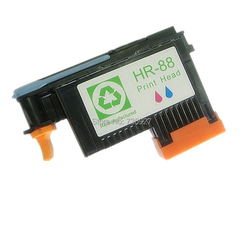 1X Compatible printhead(C/M) for hp88 hp 88 print head for hp Officejet Pro K550 K5400dn K8600 L7480 L7580 L7590 printer C9382A 1set x new excellently print head for hp88 c9381a c9382a free shipping for hp 88 printhead k550 5300 5400