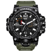 Sports Watches Dual Display Wristwatches Military Alarm Quartz Clock Male Gift S Shock Men S Fashion