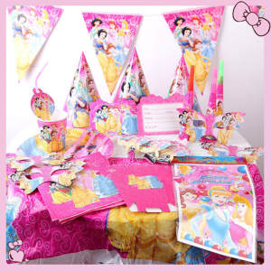 Theme Birthday Party Decor Napkin Straw Party Supplies