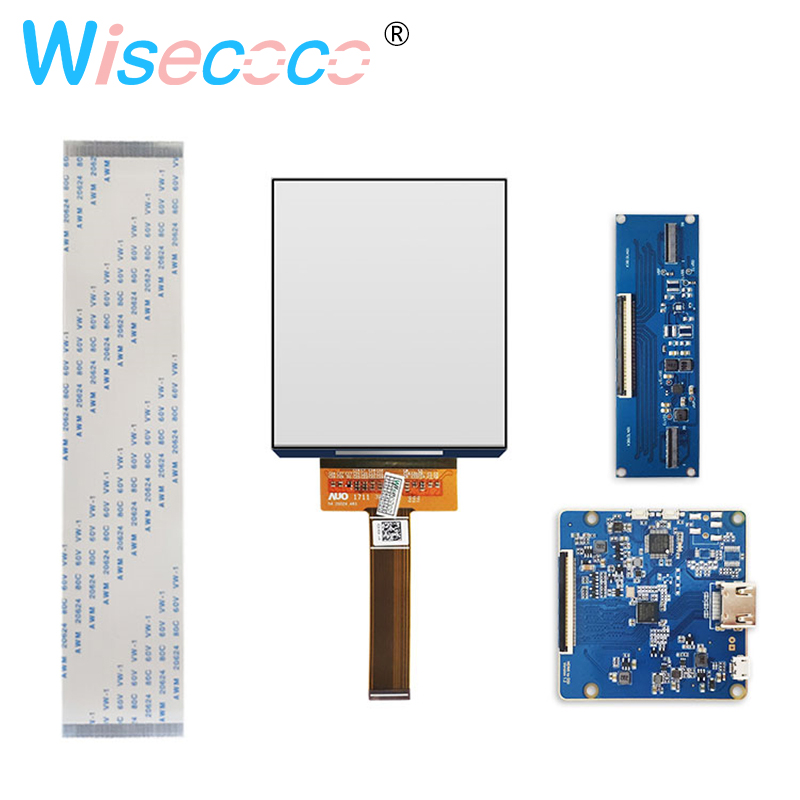 3 81 inch AMOLED display screenn 1080x1200 VR head mounted display with HDMI to MIPI board for HMD TF38101A in Tablet LCDs Panels from Computer Office