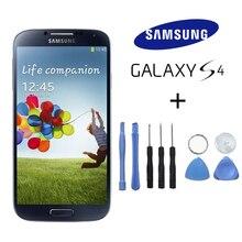 100% Original Ersatz LCD Für Samsung GALAXY S4 i9500 i9505 i337 LCD Touch screen Digitizer Bildschirm-baugruppe Mit Rahmen