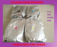 Free shipping refill color toner powder compatible for xerox dc400 / dc450 / dc500 / dc600 high quality