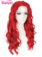 Imstyle Loose Wavy Synthetic fiery red 24