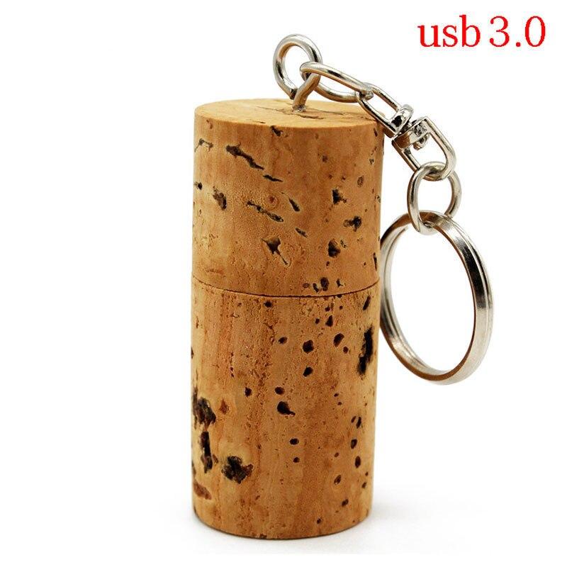 TEXT ME Cork USB Flash Drive Wood Bottle Plug Pendrive 4G 8GB 16GB 32GB Creative Usb3.0