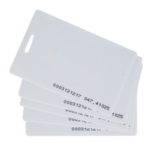 125KHz RFID thick card TK4100 ID smart card Proximity 1.8mm card access control card with high quality free shipping