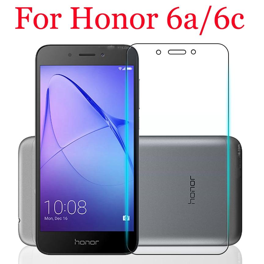 Verre de protection pour Huawei honour 6 a c film verre trempé hono 6a 6c protecteur d'écran honer c6 a6 cam honour 6a honour 6c tremp