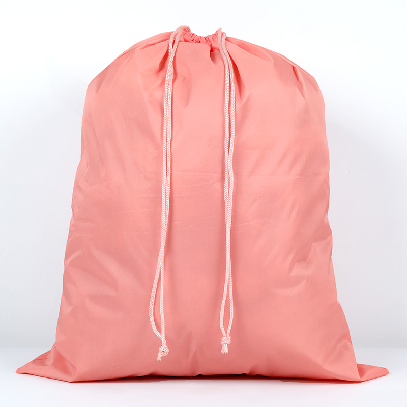 46*57cm High Quality Nylon Drawstring Bag Beach Women Men Travel Storage Package Teenagers Femme