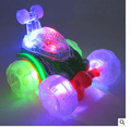 New Pattern Battery Roll Music Light Stunt Vehicle Off-road Vehicle Children Car Toy