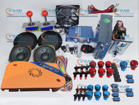 Arcade parts Bundles kit With 1500 in 1 Pandora Box 9 Joystick Microswitch LED illuminated Buttons for Arcade Cabinet Machine