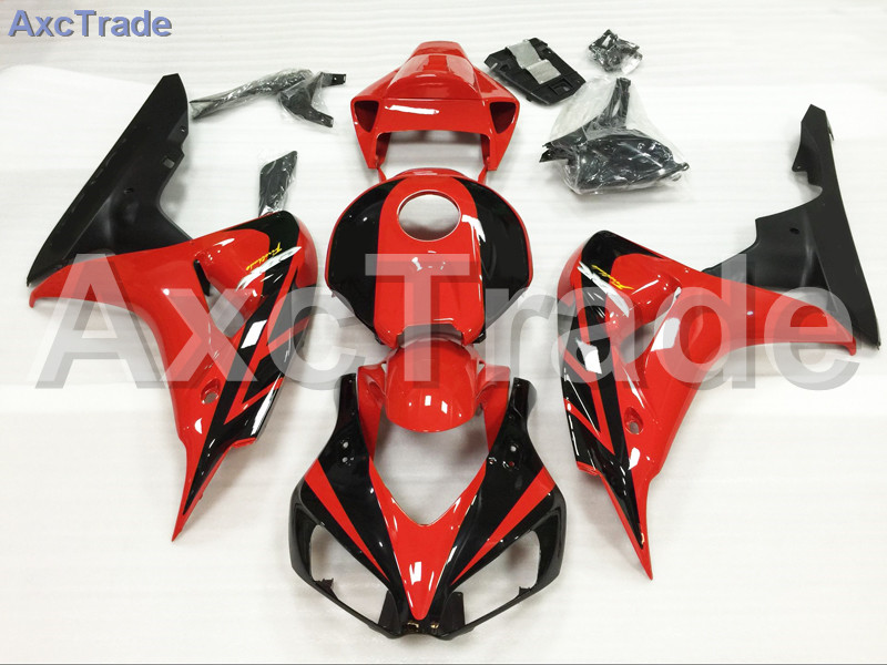 Motorcycle Fairings For Honda CBR1000RR CBR1000 CBR 1000 RR 2006 2007 06 07 ABS Plastic Injection Fairing Kit Bodywork Red Black injection mold fairing for honda cbr1000rr cbr 1000 rr 2006 2007 cbr 1000rr 06 07 motorcycle fairings kit bodywork black paint