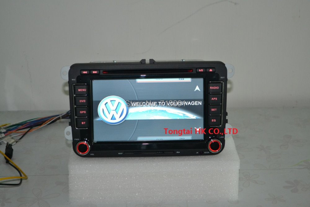 7 for VW caddy Tiguan PASSAT B6 JETTA Car DVD Player near original GPS navigation ipod
