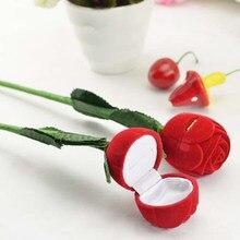 Romantic Rose Wedding Ring Jewelry Box