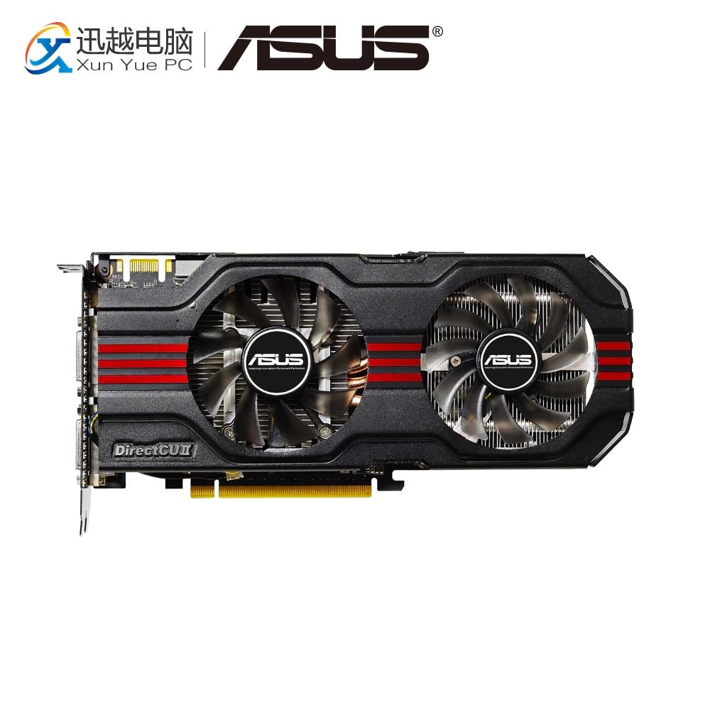 цена на ASUS ENGTX560 TI DCII/2DI/2GD5 Original Graphics Cards 256 Bit GTX 560 Ti GDDR5 Video Card DVI HDMI For Nvidia GTX560 Ti
