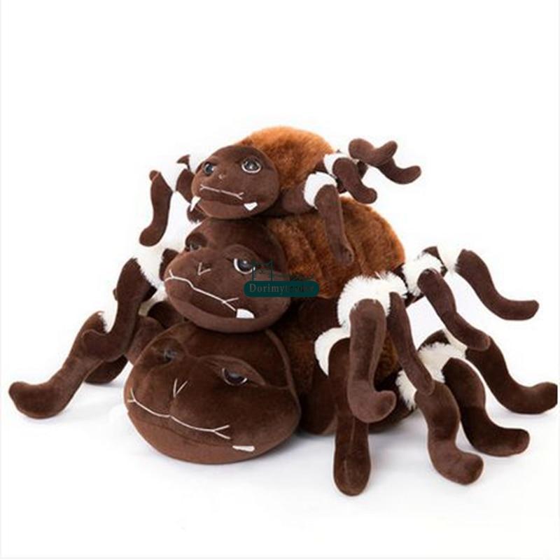 Dorimytrader Novelty Toy 80cm Big Soft Emulational Animal Spider