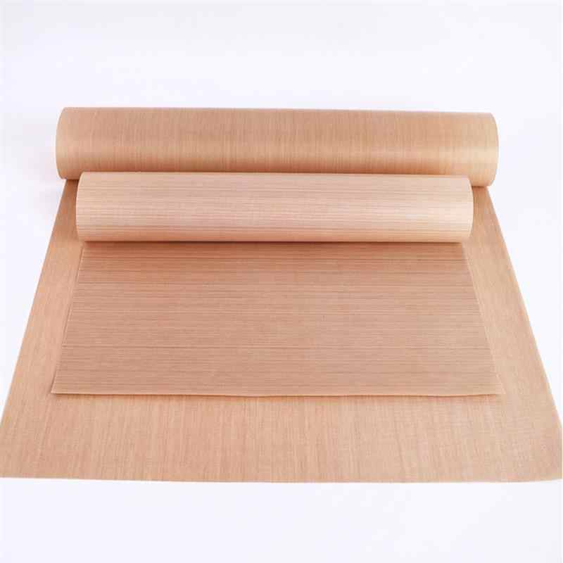 Non-Stick BBQ Grill Mat 44x 33cm Baking Mat Teflon Cooking Grilling Sheet Heat Resistance Easily Cleaned Kitchen BBQ Tools