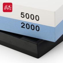 Grinder haushaltsdoppelseitigen schleifstein t0930w professionelle messerschärfer 5000/2000 grit-schleifscheibe stein taidea produktion