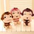 Мультфильм обезьяна кукла куклы, Плюшевые игрушки Qauqaut насосных куклы, Кукла свадебные игрушки