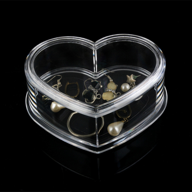 Acrylic CosmeticJewelry Storage Box High Quality Star Shape Fashion