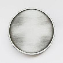 купить Low price Antique Brushed Silver Belt Buckle big discount Round Blank Belt Buckle wholesale Round Metal Belt Buckle дешево