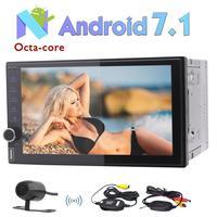 Eincar Rear Camera + Octa Rdzeń Android 7.1 Autoradio Radio Samochodowe 2 Din W Desce Rozdzielczej Radioodtwarzacza GPS Nawigacja Obsługuje Szybkie Boot/Bluetooth