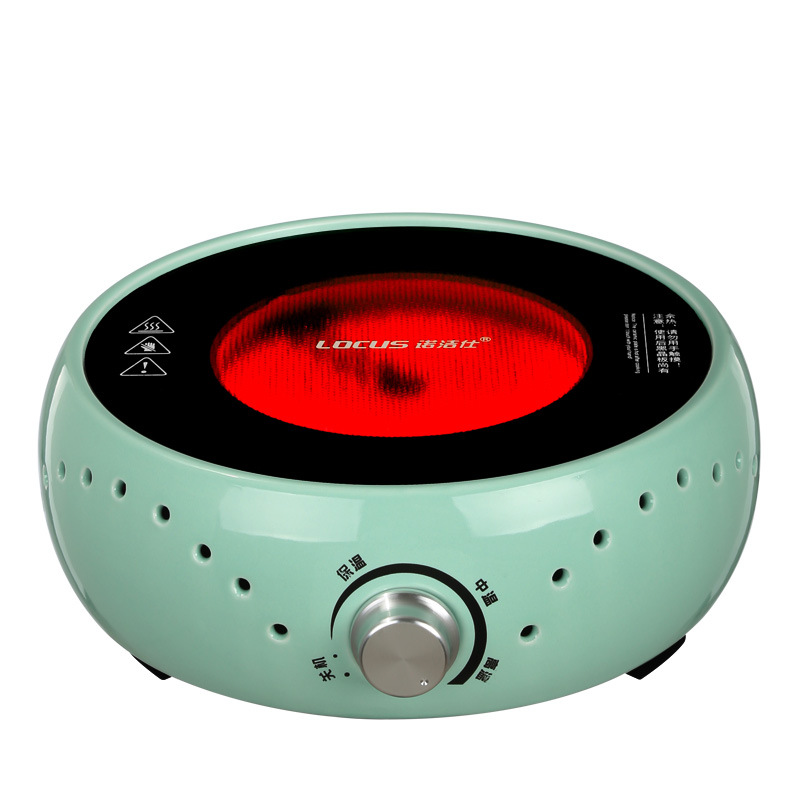 AC220 240V 50 60hz mini electric ceramic stove boiling tea heating coffee 800w power COOKER COFFEE HEATER WITHOUT POT - 4