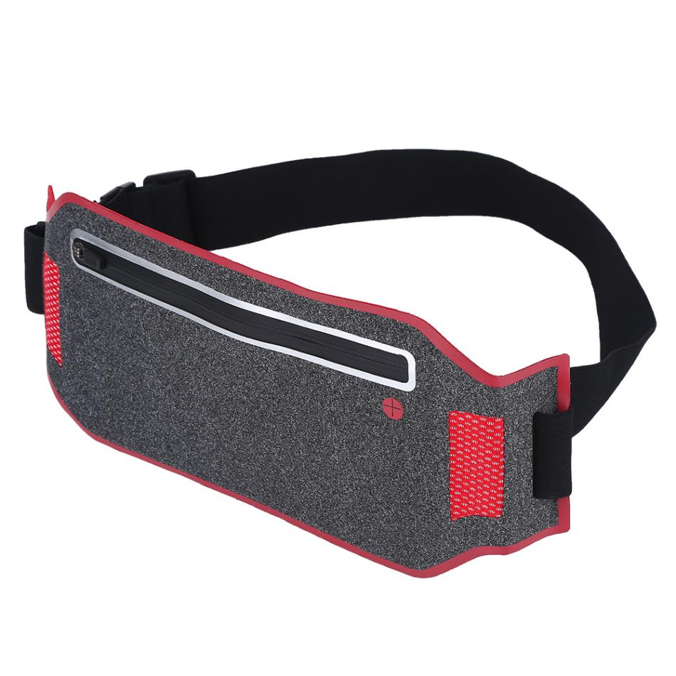 1 Stück Ultraleicht Laufen Tasche Radfahren Pouch Sport Einstellbare Lauf Tasche Atmungsaktiv Wasserdicht Außentaschen 4 Farbe