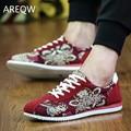 Nuevos Zapatos Casuales Para Hombre Zapatos de Lona para Los Hombres con cordones de Moda Transpirable Verano Otoño Pisos de Moda de Calzado de Gamuza zapatos