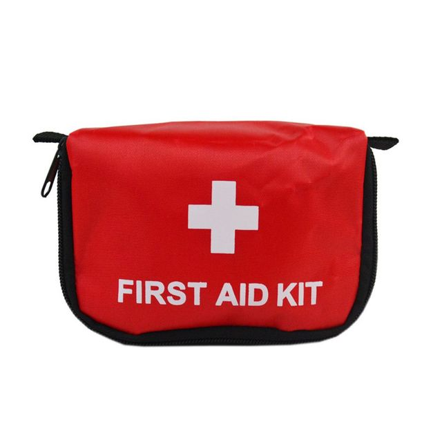 Portable Empty First Aid Bag Kit Pouch Home Office Medical Emergency Travel Rescue Case Bag Medical Package Travel Accessories Bag Parts & Accessories