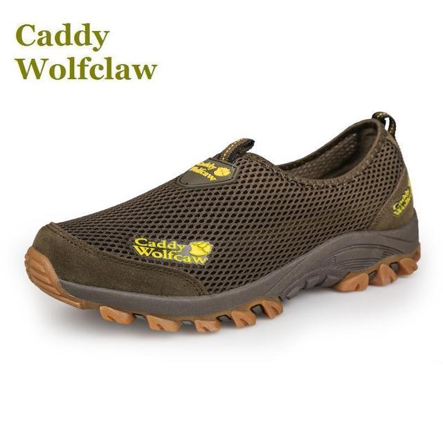 US $26.0 50% di SCONTO|Estate 2018 Caddy Wolfclaw di marca scarpe da trekking donna degli uomini scarpe outdoor mesh traspirante scarpe da trekking