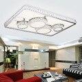 Led moderne einfache decken lampe wohnzimmer lampen rechteckigen wichtigsten schlafzimmer beleuchtung atmosphärischen abschnitt dimmen decke lampe
