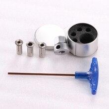 All-metal universal wood milling cutter chuck, milling cutter lock, chuck nut, tungsten steel woodworking fixture