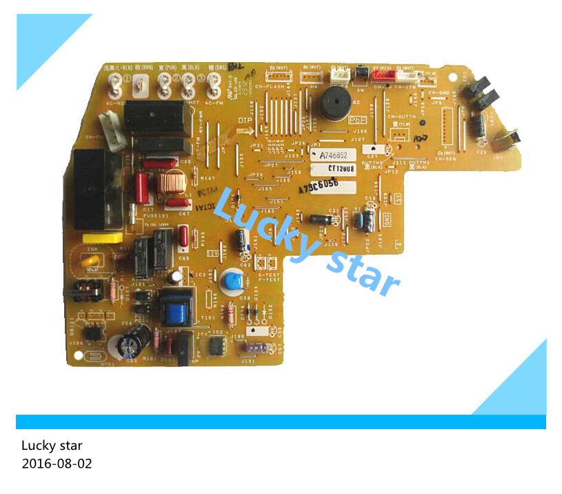 95% new used board for Air conditioning computer board circuit board A746852 good working цены