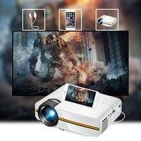 Мини-проектор HD 1080P домашний кинотеатр фильмы проектор конференции проектор Прямая поставка