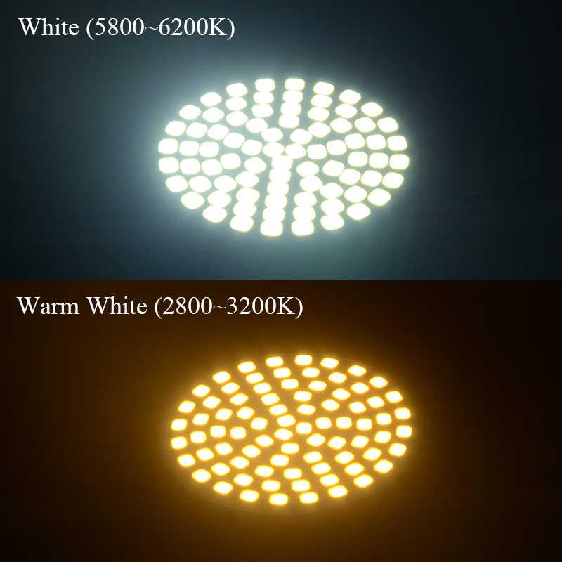 4 шт. Светодиодный прожектор лампы GU10 AC220V 120 V, 5 Вт, 7 Вт, 9 Вт, 2835 мини-светодиодная лампа Потолочные светильники пятна света светодиодные плафоны домашние огни