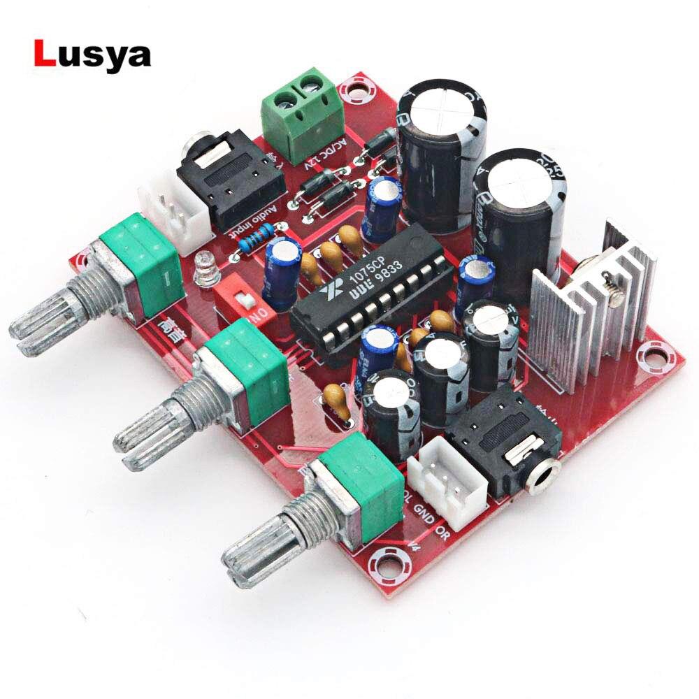 AC DC 12 v R1075 Processador de Áudio Pré-amplificador de Bordo Tom BBE Digital Atuador Preamp Amplificador F1-014