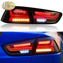 Car Styling Taillights for Mitsubishi Lancer EX 2009~2016 Lancer EX LED Tail Lamp Rear Lamp DRL+Brake+Park+Signal led light цена в Москве и Питере