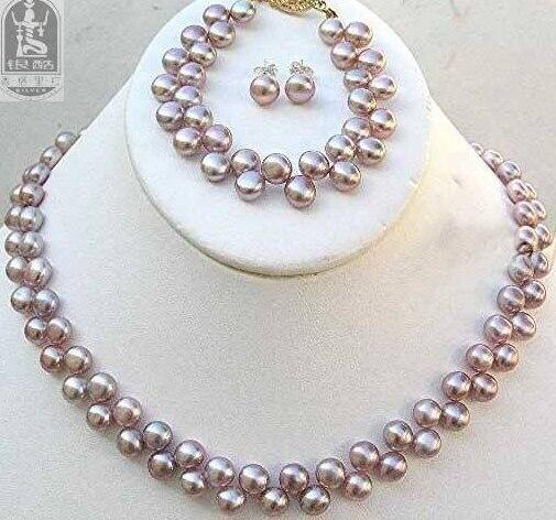sneakers official supplier high quality US $16.77 29% di SCONTO|Delle donne belle perle AKOYA collana orecchini  bracciale set parola di Moda mujer per 925 argento di qualità fine jewelry  ...