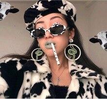 MARC NEW WOMEN sunglasses Brand Trendy Wrap Eyewear oval oculos Leopard fashion Plastic Resin gafas goggle 100%UV400