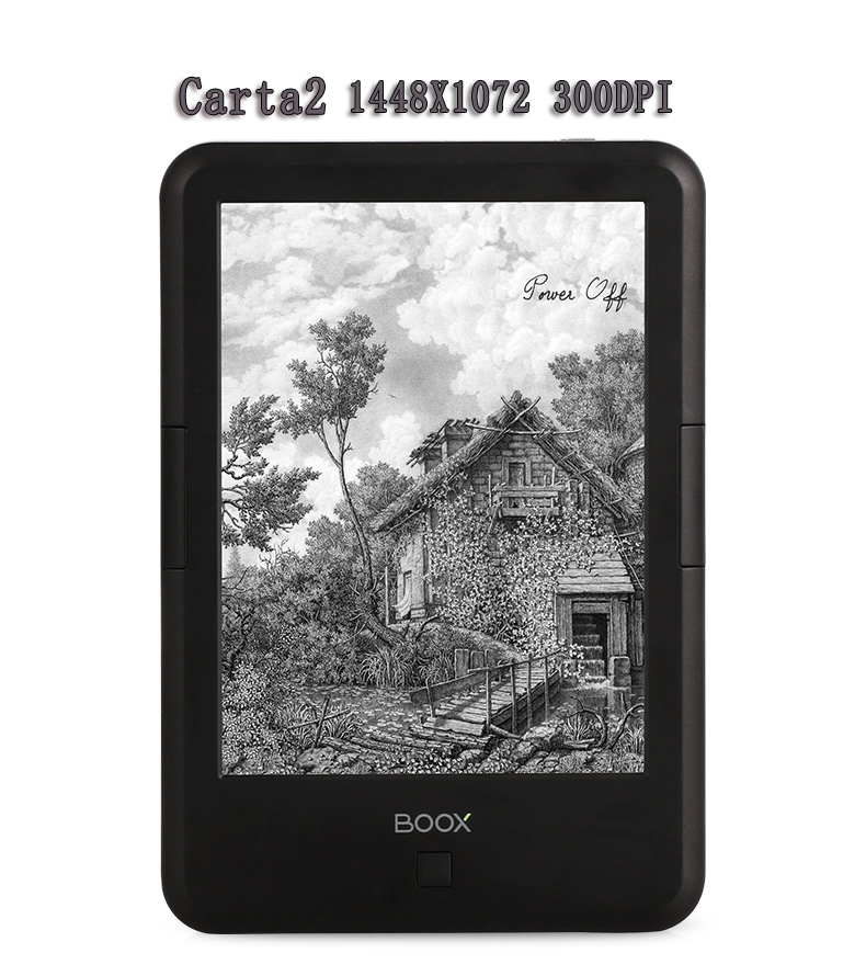 ONYX BOOX C67ML Carta2+ Ebook Capacitive Touch eink screen e Book Reader 8G 1448*1072  WIFI Front Glowlight Android +Sleep Cover