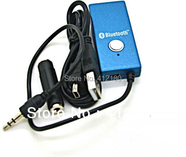 Free shipping Wireless Bluetooth Transmitter  HiFi A2DP Stereo Audio Dongle Adapter Connector 3.5mm