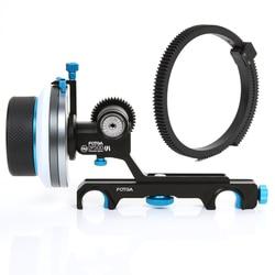 FOTGA DP500III QR A/B Hard Stop Follow Focus For 19mm Rod Rig A7 II BMPCC