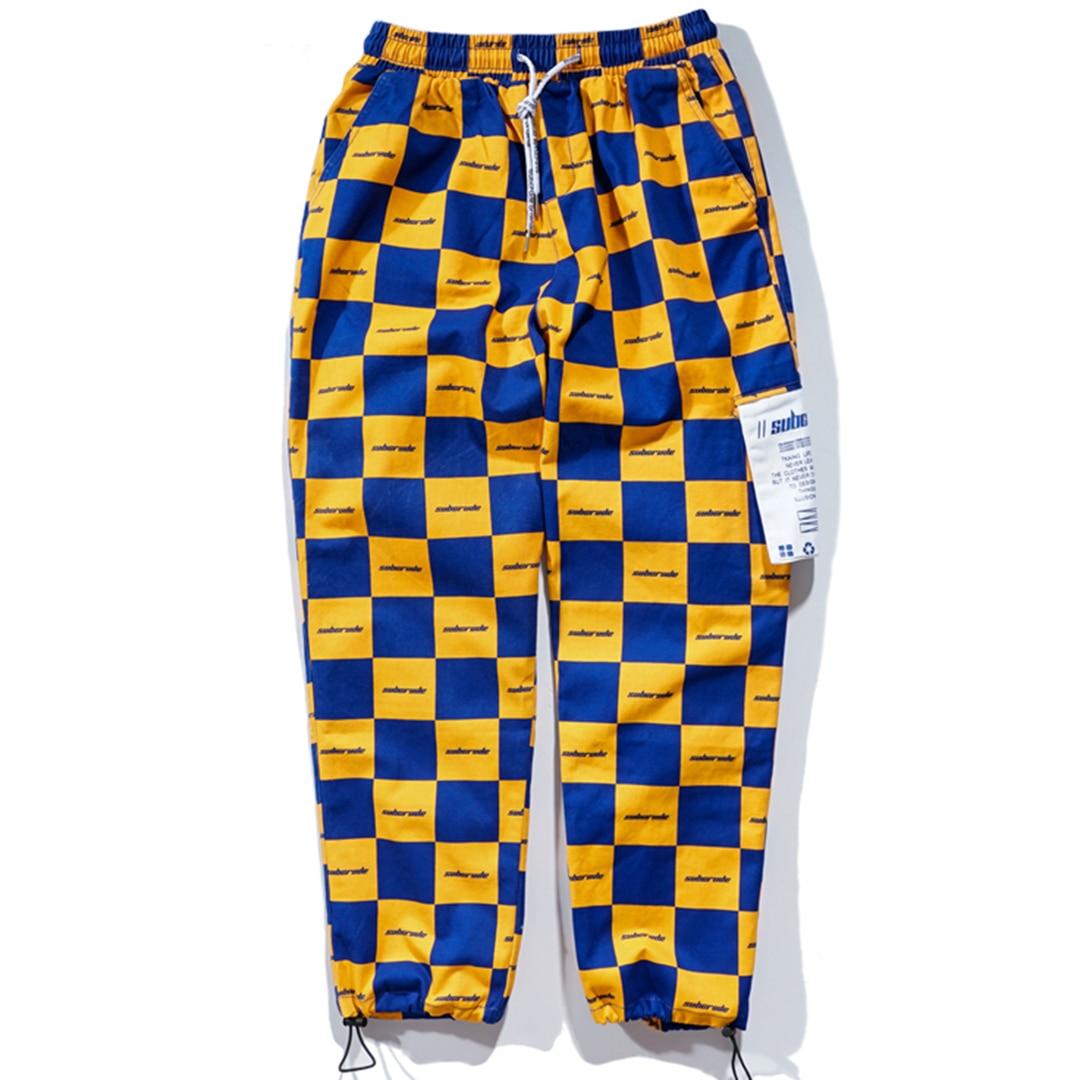 9c4b8d0ec741 Aelfric Eden Vintage Color Block Patch Harem Pants Mens 2018 New Design Hip  Hop Joggers Streetwear