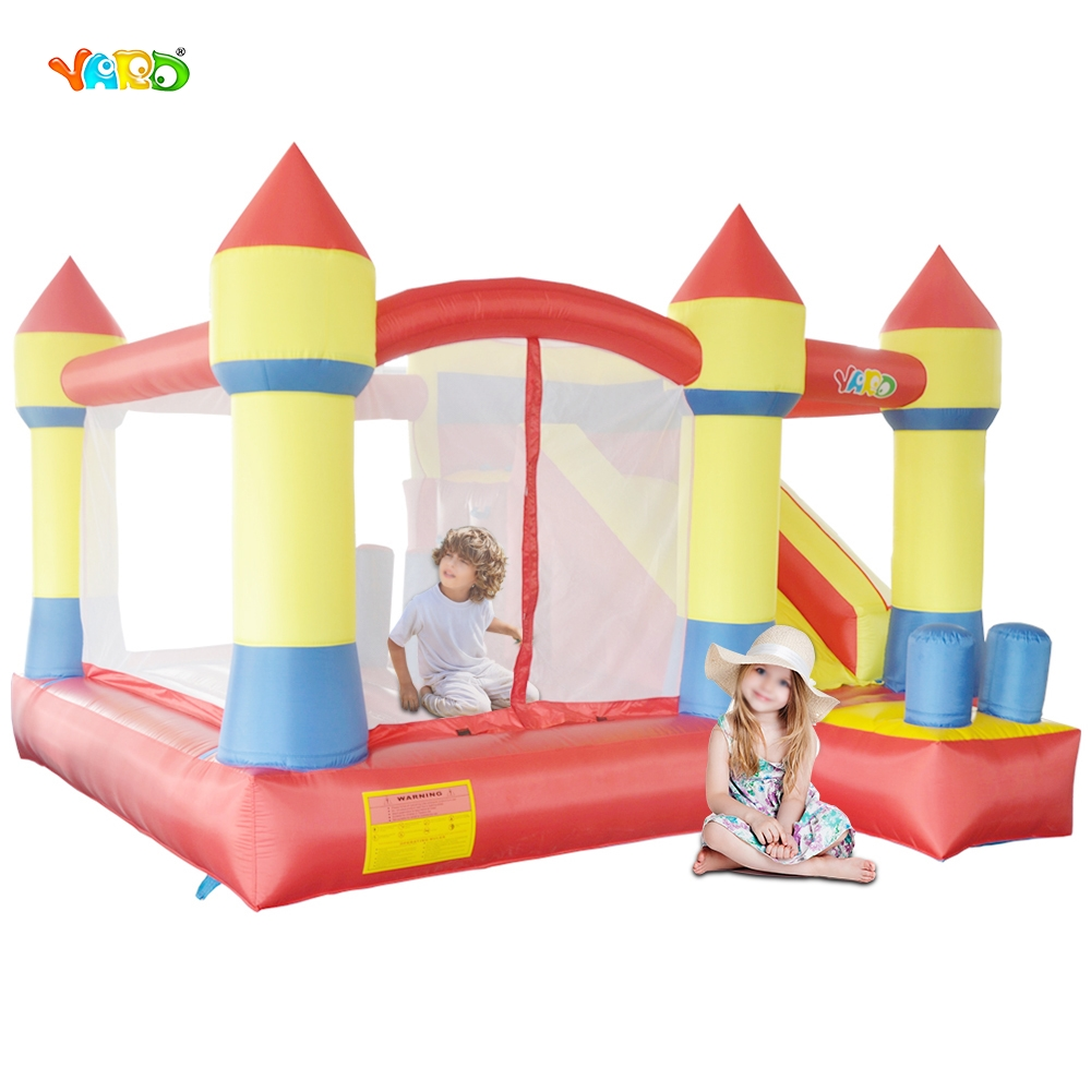 YARD Inflatable Trampoline Kids Outdoor Play Bouncy Castle with Slide Combo Obstacle Special Offer for Hot Zone factory direct inflatable trampoline inflatable castle inflatable slide obstacle yly 0177