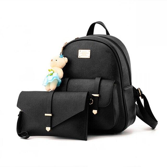 e32a32cb9f244 SERIN YÜRÜTEÇ Yeni Kadın Deri Sırt Çantaları Moda Tasarlanmış Marka Sırt  Çantası okul çantası Kadın Rahat