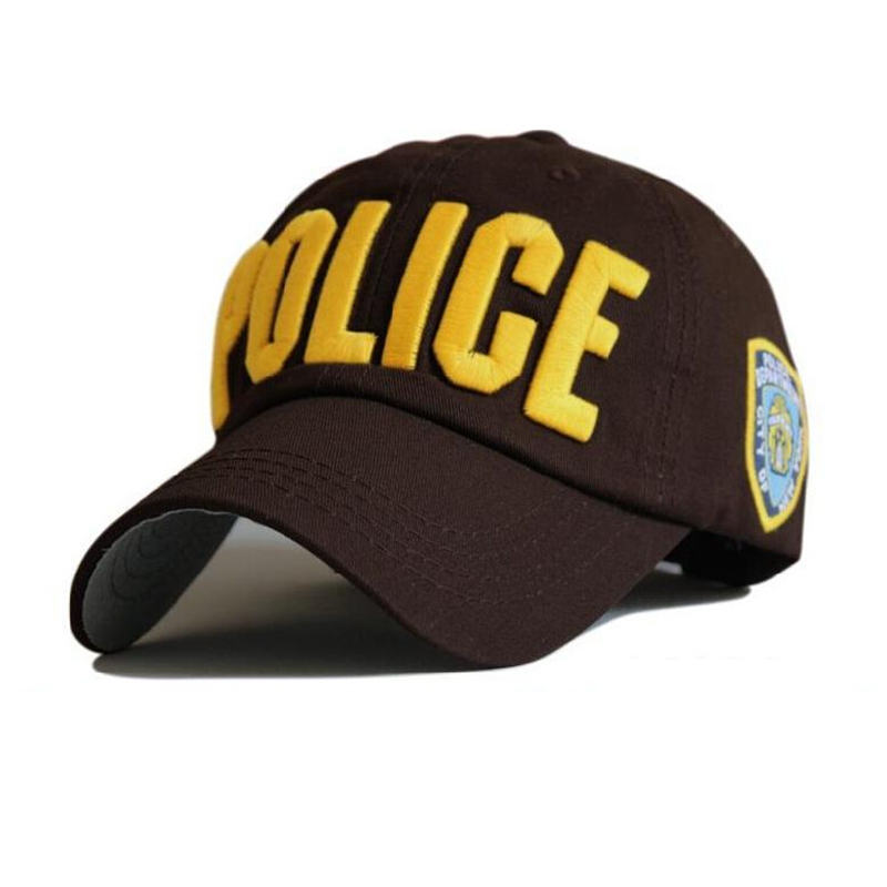 Snapback Hats For Men Casquette Police Street Sports Letter  Bone Hip Hop Baseball Cap  Mens Womens Gorras Adjustable  цены