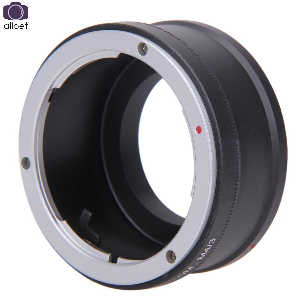 ALLOET OM-M4/3 Adapter Ring for Olympus OM Lens to MICRO 4/3 M43 Camera Body for Oly mpus OM-D E-M5 E-PM2 E-PL5 GX1 GX7 GF5