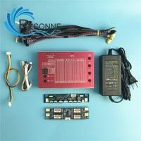 Светодиодный ЖК дисплей Панель тестер инструмент для ТВ ремонт ноутбуков с Встроенный 100 видов Lvds Экран разрешения Поддержка 7 84