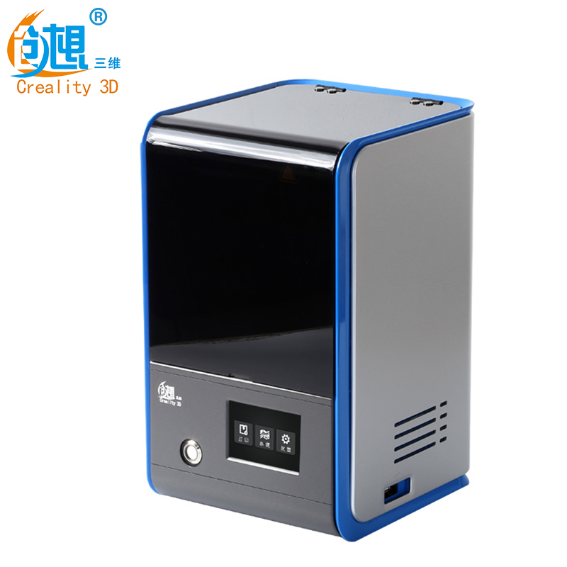 CREALITY 3D LCD Screen Light Curing 3D Printer Yuntai Leveling High Precision LCD SLA 3D Printer Can Replace LCD Screen Quickly цена