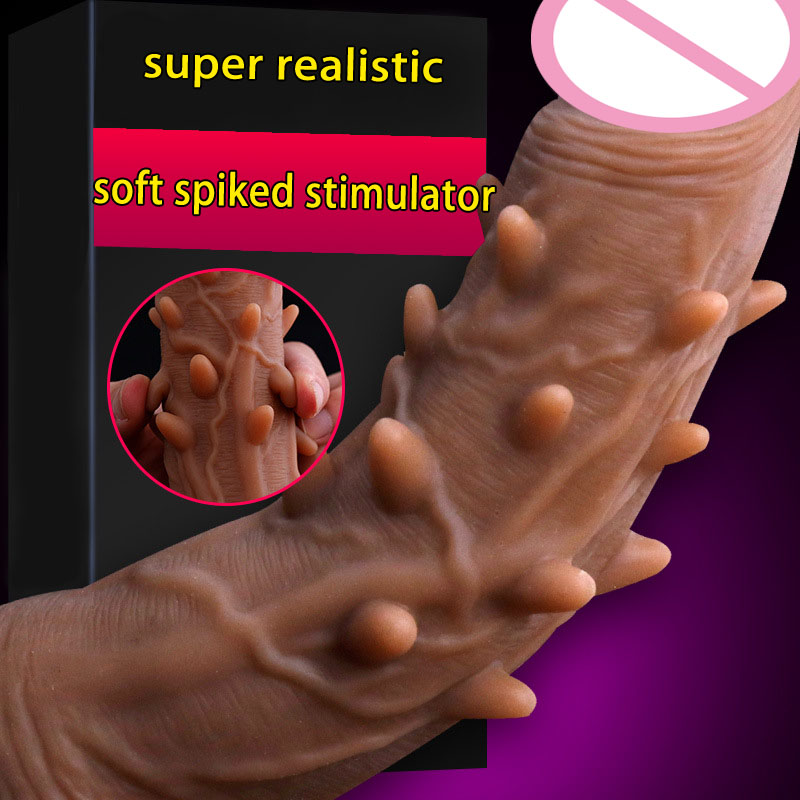 Spiked dildo