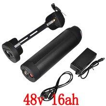 48 В бутылка для воды электрический велосипед Батарея 48 В 16AH Батарея использовать LG ячейки литий-ионный для 8fun Bafang 500/750/1000 Вт BBS02 двигателя